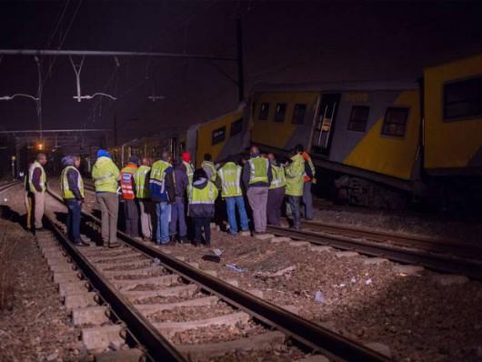 Johannesburg, RPA - Ponad 200 osób rannych w katastrofie kolejowej
