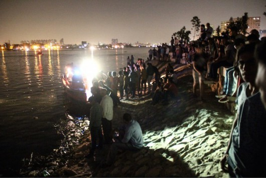 Ferry boat sinks in Egypt