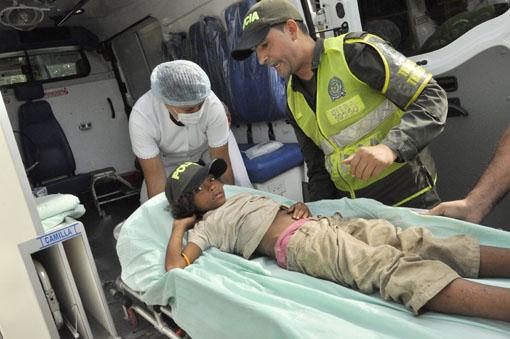 Kolumbia - Siedmioletnia dziewczynka odnalazła się żywa i zdrowa po blisko trzech tygodniach od zaginięcia w dżungli 3