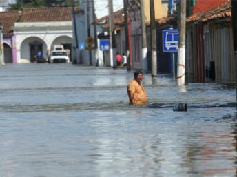 Meksyk - Powódź 1