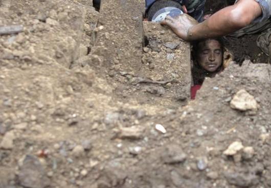 Nepal - Lawina błotna zabiła w kilku wioskach co najmniej 30 osób -1