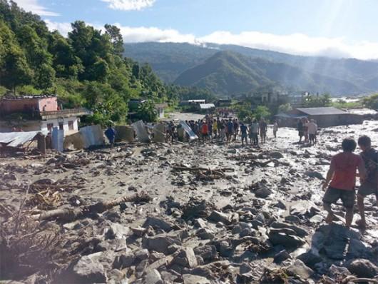 Nepal - Lawina błotna zabiła w kilku wioskach co najmniej 30 osób -3