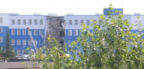 Omsku, Rosja - Częściowo zawalił się budynek koszar na Syberii, zginęły co najmniej 23 osoby -1