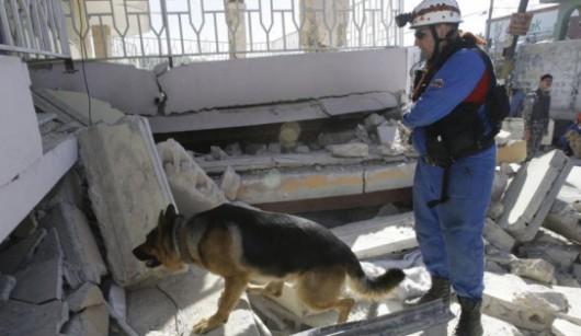 Omsku, Rosja - Częściowo zawalił się budynek koszar na Syberii, zginęły co najmniej 23 osoby -2