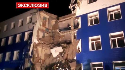 Omsku, Rosja - Częściowo zawalił się budynek koszar na Syberii, zginęły co najmniej 23 osoby