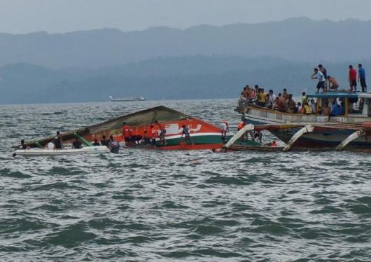 Ormoc, Filipiny - W katastrofie promu zginęło co najmniej 36 osób, na pokładzie było 189 osób