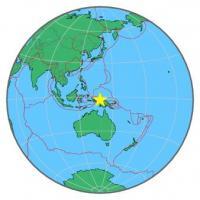 Papua, Indonezja - Wystąpiło trzęsienie ziemi o sile 7.0 w skali Richtera na głębokości 48 km