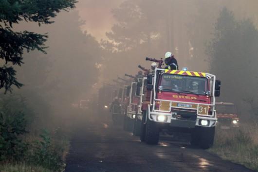 Pessac, Francja - Pożar zniszczył 600 ha lasów, ewakuowano kilkaset osób -1