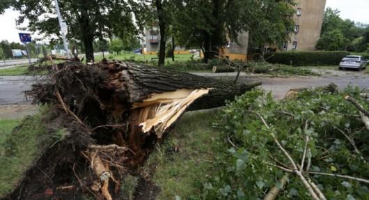 Polska - 2900 interwencji straży, wichury uszkodziły 125 budynków 5