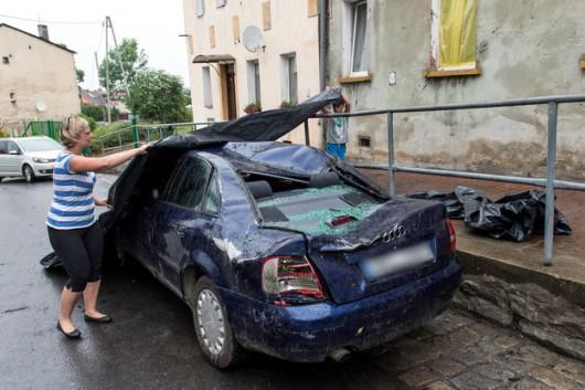 Polska - 2900 interwencji straży, wichury uszkodziły 125 budynków