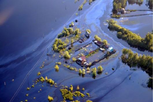 Rosja - Katastrofa ekologiczna w Nieftiejugansk, ropa z uszkodzonego ropociągu dostała się do wody 4