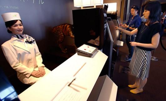 Sasebo, Japonia - Otwarto pierwszy na świecie hotel, który obsługują roboty -2