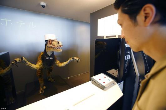 Sasebo, Japonia - Otwarto pierwszy na świecie hotel, który obsługują roboty -3