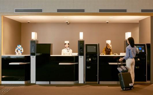 Sasebo, Japonia - Otwarto pierwszy na świecie hotel, który obsługują roboty -4