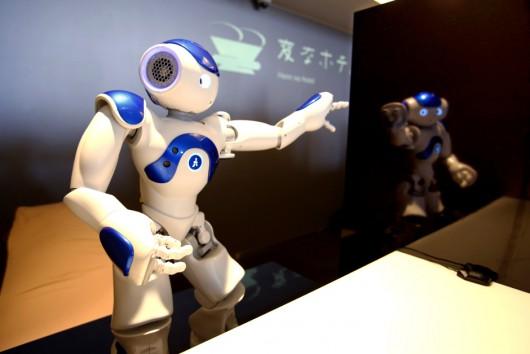 Sasebo, Japonia - Otwarto pierwszy na świecie hotel, który obsługują roboty -5