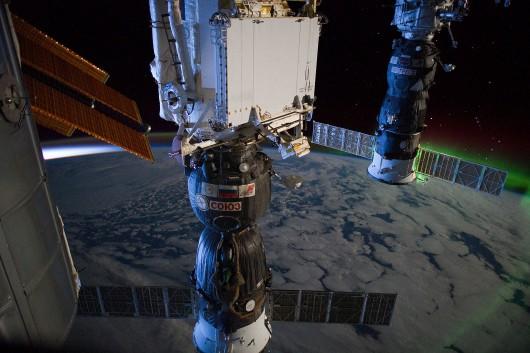 Sojuz przy ISS