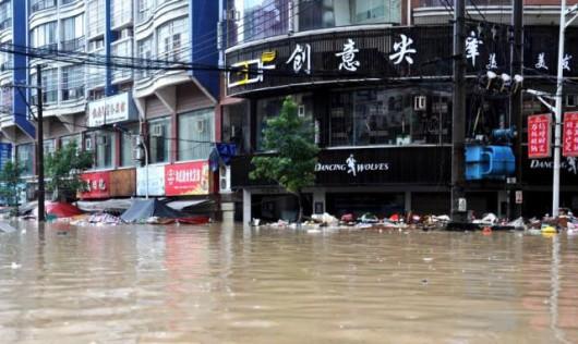 Songtao, Chiny - Ogromna powódź dotknęła 85 tysięcy osób -4 - Kopia