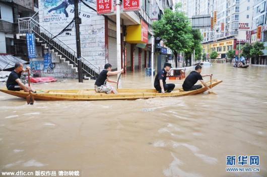 Songtao, Chiny - Ogromna powódź dotknęła 85 tysięcy osób -5 - Kopia