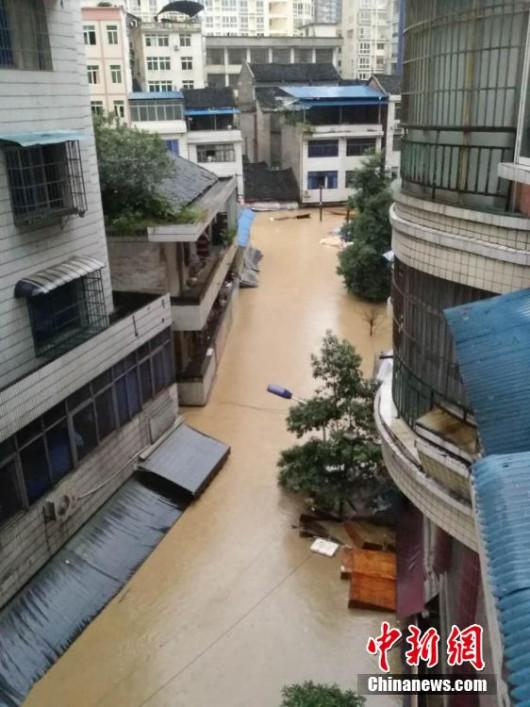 Songtao, Chiny - Ogromna powódź dotknęła 85 tysięcy osób -6 - Kopia