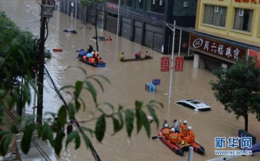 Songtao, Chiny - Ogromna powódź dotknęła 85 tysięcy osób -8 - Kopia