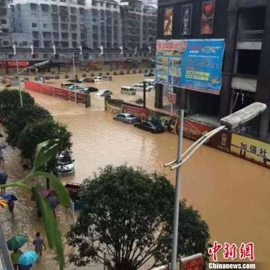 Songtao, Chiny - Ogromna powódź dotknęła 85 tysięcy osób -9 - Kopia