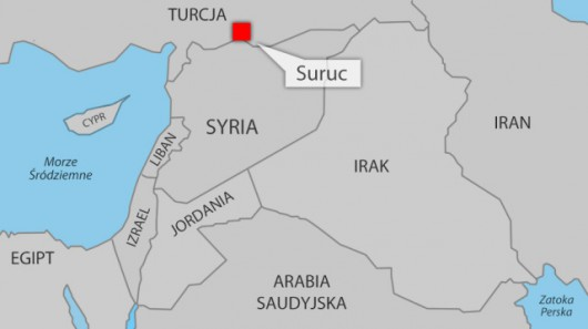 Suruc leży blisko granicy z Syrią