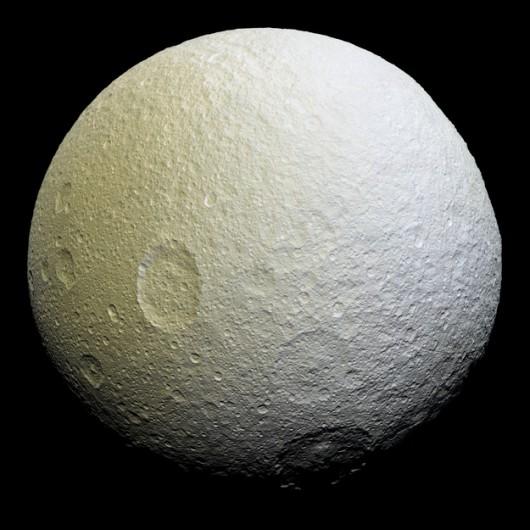 Tetyda w całej okazałości /NASA/JPL-Caltech/Space Science Institute /
