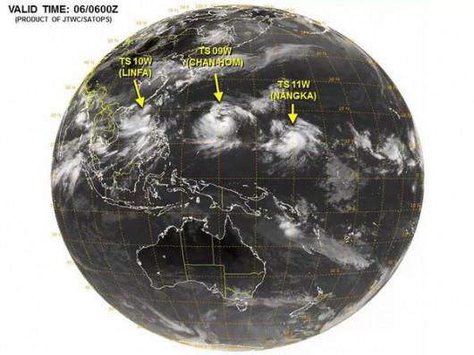 Trzy tajfuny - 2