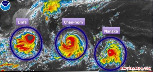 Trzy tajfuny