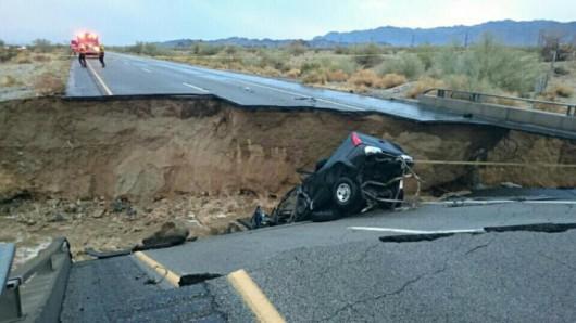 USA - W Kalifornii wystąpiły ogromne opady, tak mokro nie było od ponad 100 lat -9