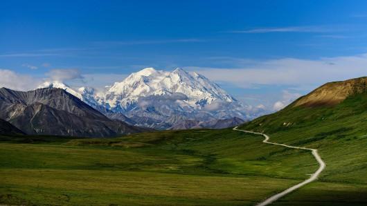 Alaska, USA - Szczyt McKinley - Denali