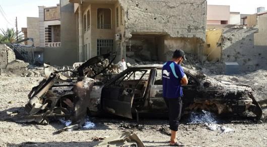 Bagdad, Irak - W ogromnym zamachu bombowym zginęło co najmniej 76 osób -5