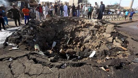 Bagdad, Irak - W ogromnym zamachu bombowym zginęło co najmniej 76 osób -7
