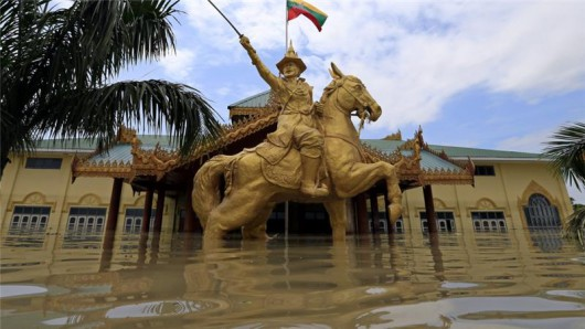 Birma, Indie, Nepal - Deszcze monsunowe zabiły co najmniej 96 osób -2