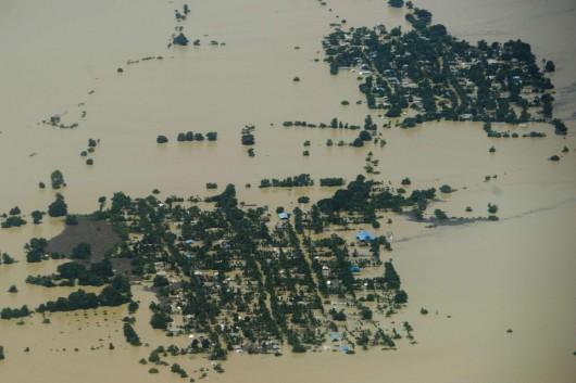 Birma, Indie, Nepal - Deszcze monsunowe zabiły co najmniej 96 osób -3