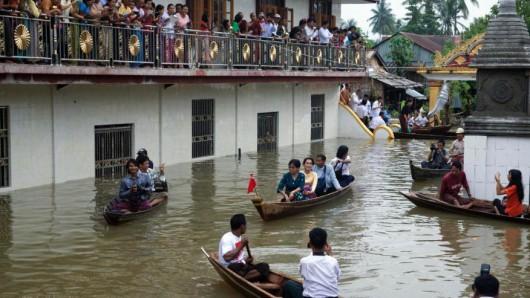 Birma, Indie, Nepal - Deszcze monsunowe zabiły co najmniej 96 osób -4