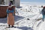 Boliwia - Gwałtowny atak zimy, opady takie są nietypowe dla tej szerokości geograficznej