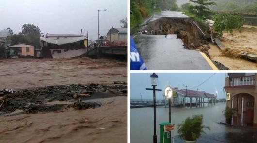 Burza tropikalna Erika przetoczyła się przez Karaiby -1
