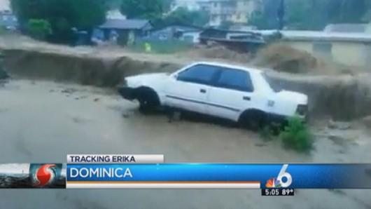Burza tropikalna Erika przetoczyła się przez Karaiby -6