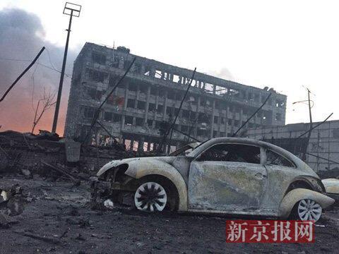 Chiny - Ogromne straty po potężnej eksplozji w Tianjin -10