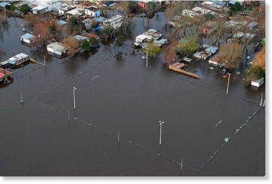 Durazno, Urugwaj - Poziom rzeki został przekroczony o 11 metrów -2