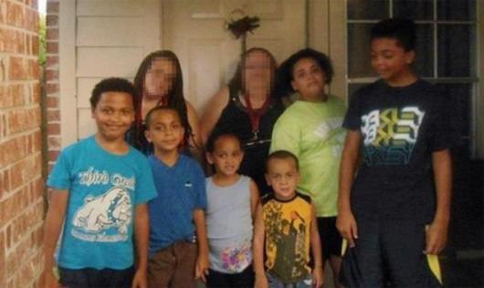 Houston, USA - Sześcioro dzieci i dwoje dorosłych skutych kajdankami i zastrzelonych -2