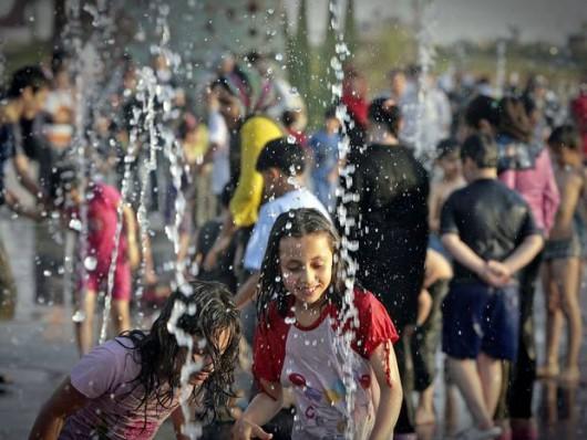 Iran - Temperatura odczuwalna osiągnęła 74 st.C.