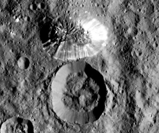 Na planecie karłowatej Ceres znajduje się tajemnicza stożkowata góra o wysokości 6 km -1
