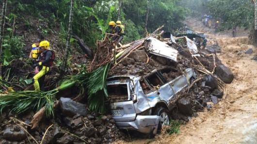 Najsilniejszy w tym roku tajfun Soudelor zabił 8 osób w Chinach i 6 w Tajwanie -1