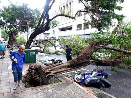 Najsilniejszy w tym roku tajfun Soudelor zabił 8 osób w Chinach i 6 w Tajwanie -7