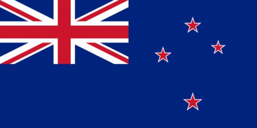 Obecna flaga Nowej Zelandii