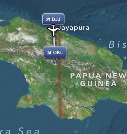 Papua, Indonezja - Rozbił się samolot pasażerski z 54 osobami na pokładzie -2