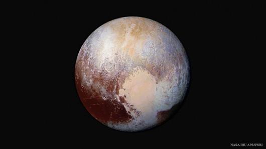 Najnowszy, opublikowany przez NASA obraz Plutona/NASA, Johns Hopkins Univ./APL, Southwest Research Inst. /