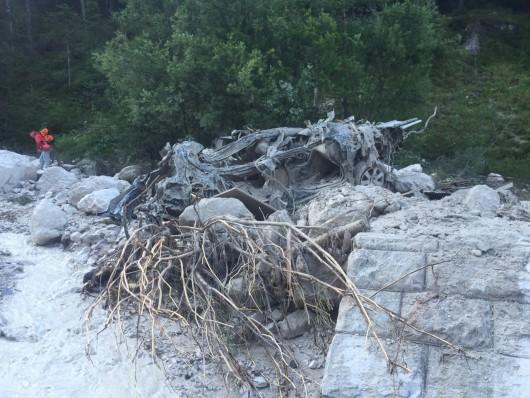 San Vito di Cadore, Włochy - Po ogromnej ulewie rzeka błota i kamieni porwała turystów -2